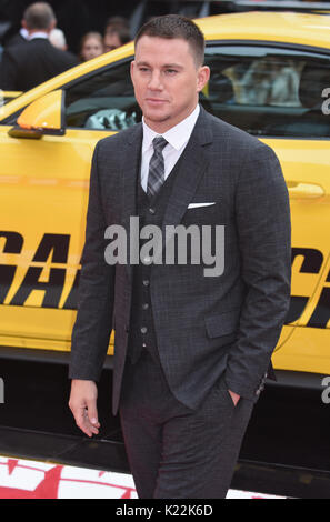 Channing Tatun,Lucky Logan - UK Premiere,Vue West End, Leicester Square, London.UK Banque D'Images