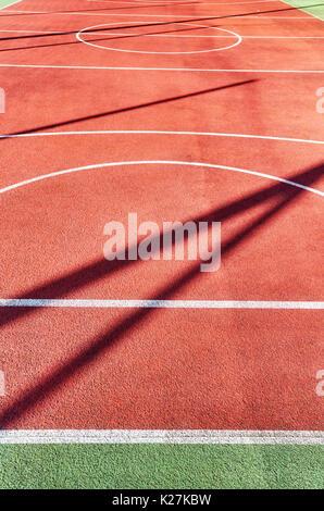 Terrain de jeu en plein air, le sport ou la texture d'arrière-plan. Banque D'Images