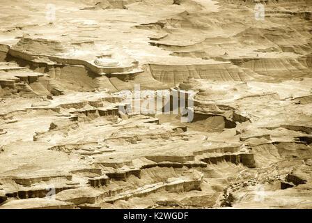 Désert de Judée près de la Mer Morte. Israël Banque D'Images