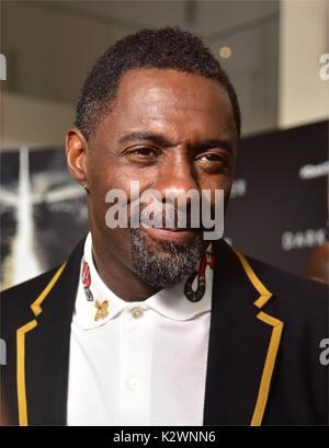 New York premiere de 'la Tour Sombre' au Musée d'Art Moderne de New York. Comprend: Idris Elba où: New York City, Banque D'Images