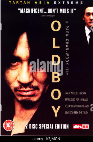 OLD BOY BLACKGUY MIN-SIK CHOI que Dae-su Oh Date: 2003 Banque D'Images