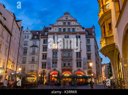 Orlando-Haus am Platzl, centre historique, Munich, Haute-Bavière, Bavaria, Germany, Europe Banque D'Images