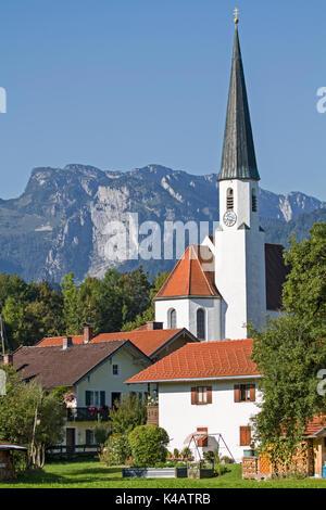 Arzbach En Haute-bavière Banque D'Images