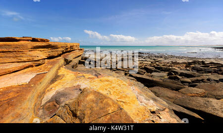 Gantheaume Point dans Broome, Australie occidentale Banque D'Images