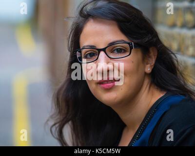 Portrait d'une jeune femme turque Banque D'Images