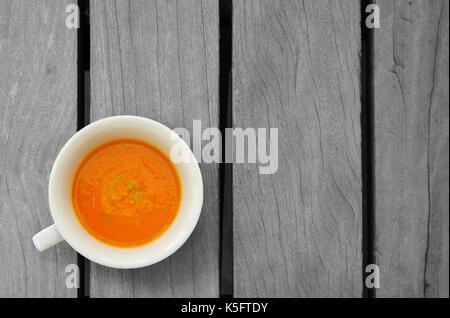 Soupe de tomate carotte Banque D'Images
