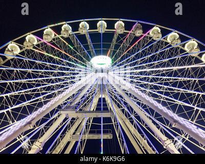 Grande roue, birmingham uk 2016 Banque D'Images