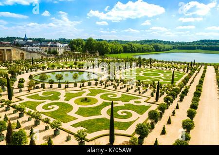 Versailles, France: jardins du palais de Versailles près de Paris, France. Banque D'Images