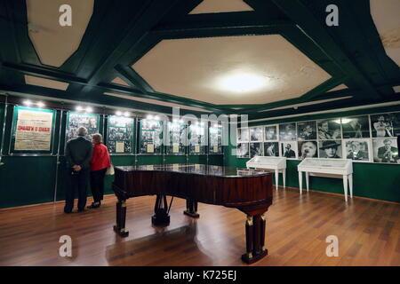 Saint-pétersbourg, Russie. 14Th sep 2017. personnes visitent un musée de St Petersbourg, à St Petersbourg musique Banque D'Images
