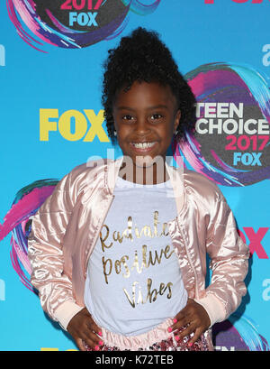 Teen Choice Awards 2017 : invité d' où : Los Angeles, California, UNITED STATES Quand : 14 août 2017 Credit : fayesvision/wenn.com Banque D'Images