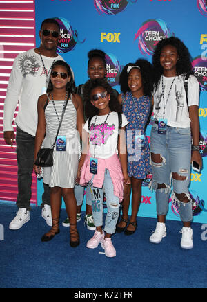 Teen Choice Awards 2017 : les clients d' où : Los Angeles, California, UNITED STATES Quand : 14 août 2017 Credit : fayesvision/wenn.com Banque D'Images