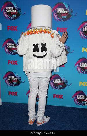 Teen Choice Awards 2017 comprend : marshmello où : Los Angeles, California, UNITED STATES Quand : 14 août 2017 Credit : fayesvision/wenn.com Banque D'Images