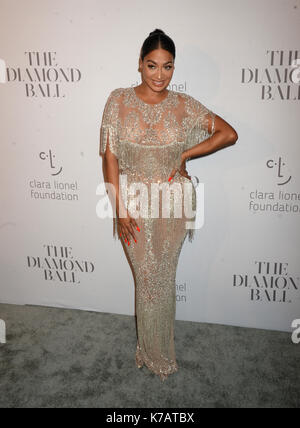 New YORK, NY - 14 SEPTEMBRE: La Anthony assiste à la 3ème boule annuelle de diamant de Rihanna à Cipriani Wall Street Banque D'Images