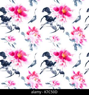 papier peint fleurs rose transparent banque d 39 images photo stock 35655433 alamy. Black Bedroom Furniture Sets. Home Design Ideas
