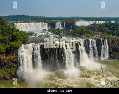 D'Iguazu, Foz do Iguaçu, l'État de Parana, Brésil Banque D'Images