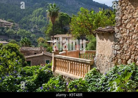 Village de deia Majorque, Espagne Banque D'Images