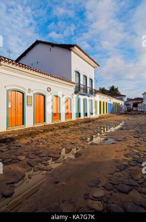 Vieille ville, paraty, Etat de Rio de Janeiro, Brésil Banque D'Images