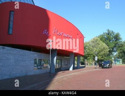 E 'Harmonie', grand concert-hall et le théâtre à Leeuwarden, capitale de la Frise, aux Pays-Bas. Banque D'Images