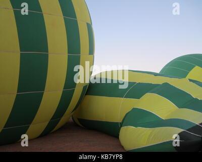 tour en montgolfière Banque D'Images