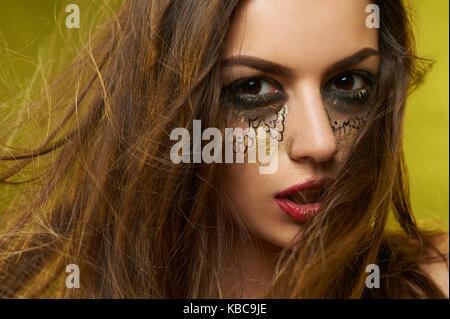 Photo d'un joli modèle. Banque D'Images
