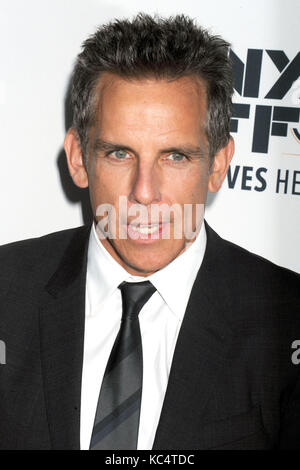Ben Stiller assiste à la 'meyerowitz stories' premiere pendant le 55e festival du film de new york à l'Alice Tully Banque D'Images