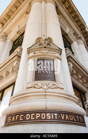 Wells Fargo Bank, San Francisco, Californie Banque D'Images