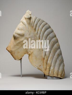 En tête d'un cheval, 2e moitié du 6e siècle avant J.-C. Banque D'Images