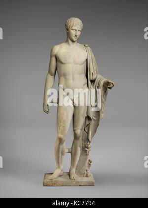 Statue en marbre d'Hermès, l'Impériale, 1er ou 2ème siècle après J.-C., Roman, le marbre, le Pentellic, Total: Banque D'Images