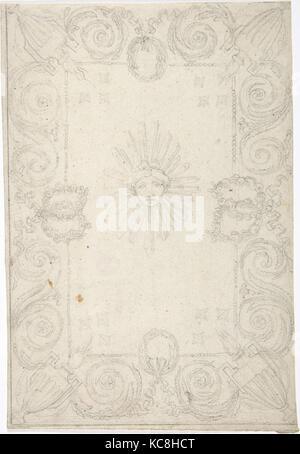 Pour plafond, de conception française, Anonyme, 18e siècle Banque D'Images