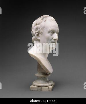 Denis Diderot (1713-1784), Jean Antoine Houdon, 1773 Banque D'Images