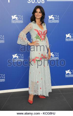 Penelope Cruz venezia 05-09-2017 Banque D'Images