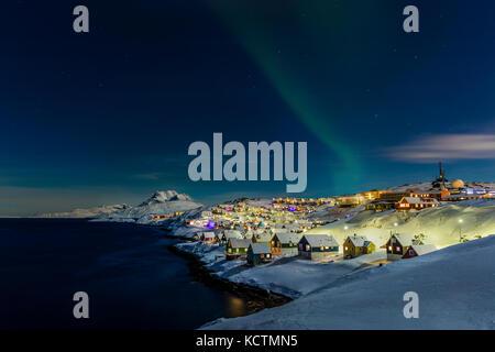 Nuuk au Groenland Banque D'Images