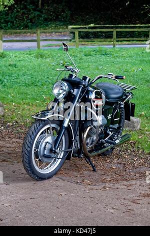 Une moto 1970 moto Guzzi V750 Ambassador Classic