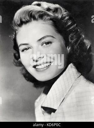 Ingrid Bergman, portrait. La star de cinéma suédois, le 29 août 1915 - 29 août 1982. Photo Publicité