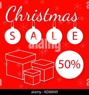 Maison de vacances de Noël et Nouvel An abstract background vector à thème pour votre achat de flyer. Banque D'Images
