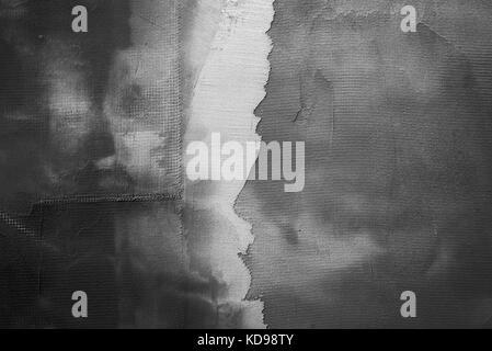 Abstract dark plâtre gris texture du mur en arrière-plan Banque D'Images