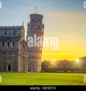 Tour de Pise - Pise, Italie Banque D'Images