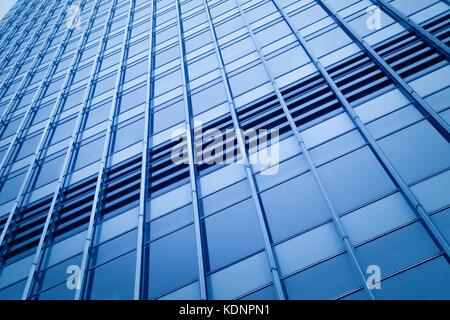 Centre d'affaires moderne à Hongkong Banque D'Images