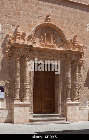 Església del Roser, ciutadella de menorca, minorque, espagne Banque D'Images