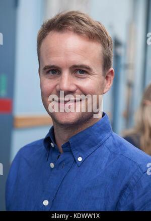 Pelle nilsson présentateur de télévision à la télévision suédoise 2017 Banque D'Images