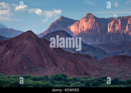 La Quebrada de la Conches, Valles Calchaquies, la province de Salta, Argentine