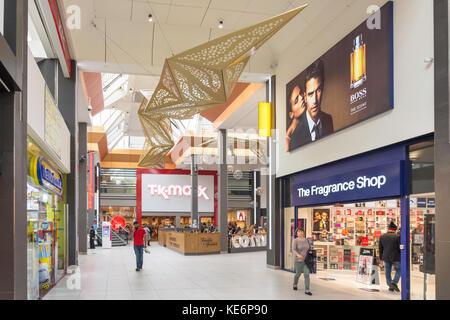 Intérieur de la Mall Shopping Center, High Street, Walthamstow, London Borough de Waltham Forest, Greater London, Banque D'Images