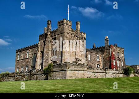 Ripley Castle est un 14ème siècle à Ripley, North Yorkshire, Angleterre, Royaume-Uni. Banque D'Images