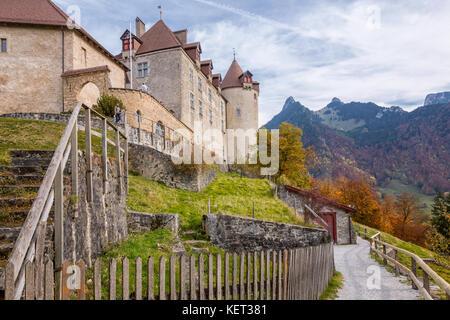 Château de Gruyères, Gruyères, Fribourg, Suisse