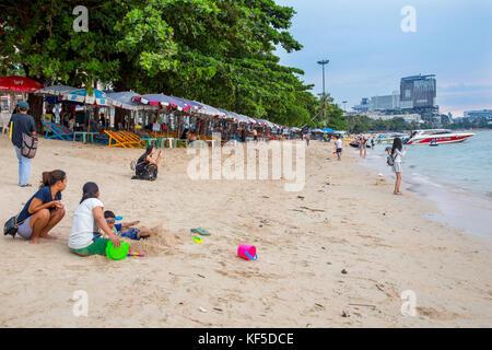 Plage de Pattaya, Pattaya, Thaïlande