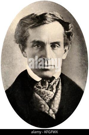 Samuel Morse, Samuel Finley Breese Morse, peintre américain et inventeur Banque D'Images