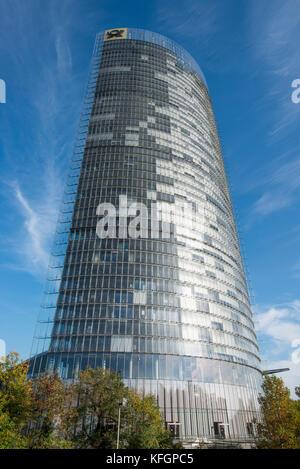 La tour de la poste à Bonn, Rhénanie du Nord-Westphalie, Allemagne