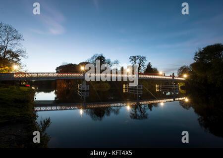 Whitchurch Pont sur la Tamise à Pangbourne