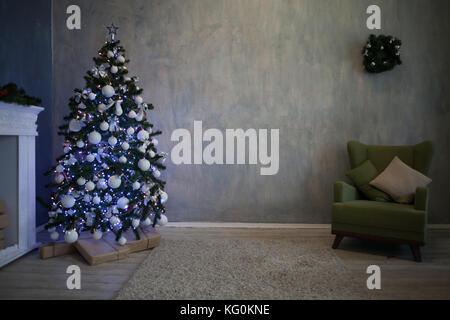 Accueil Cadeaux de Noël arbre de Noël Nouvel an Banque D'Images