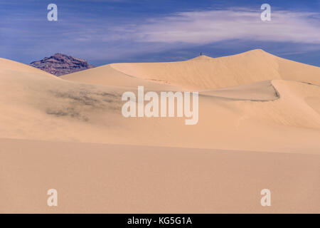 Les usa, Californie, Death Valley National Park, Stovepipe Wells, mesquite flat sand dunes